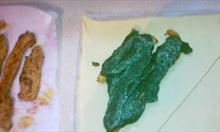 Układanie i zwijanie ciasta cz.2