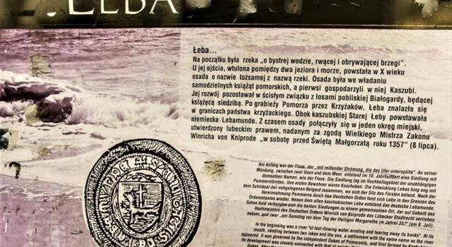 Oto historia, jak powstała miejscowość Łeba.