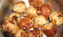 Kuleczki mięsno - grzybowe