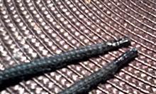 Jak usunąć strzępienie się sznurówek?