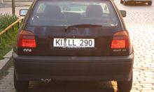 Jak rozszyfrować niemieckie tablice rejestracyjne cz.2 ?