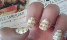 Jak zrobić gazetowe paznokcie?