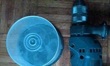 Jak zrobić tanią osłonę do wiercenia w suficie z żelbetu?