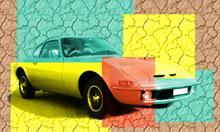 Oldtimer Opel GT 1969 rok