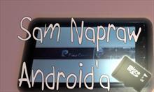 Jak naprawić Androida w tabletach typu MID, F-117?