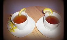 Elegancko serwowana herbata, to herbata w filiżance. Fot. własna.
