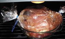 Pieczenie żeberek w worku