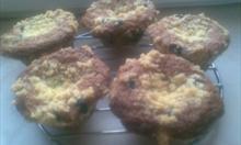 Jak zrobić muffinki z jagodami?