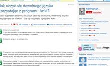 Poprzednia porada na temat programu Anki.