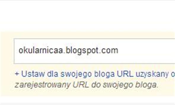 Przejście z blogspot na własną domenę - nazwa.pl