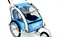 Dziecko na rowerze - fotelik czy przyczepka