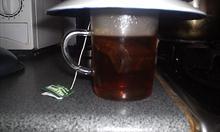 parzenie herbatki