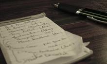 Zapisywanie swoich celów i marzeń