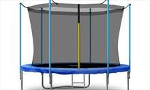 Jakie akcesoria znajdują się w zestawie z trampoliną?