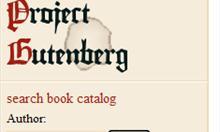 Projekt Gutenberg - rewelacyjna strona na której możemy czytać książki online.