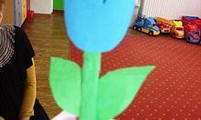 tulipan z papieru