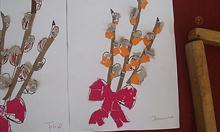 Jak zrobić obrazek z małymi dziećmi - bukiet bazi?